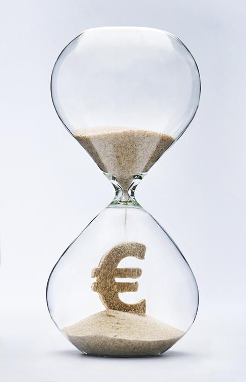 Sablier euro