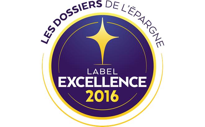 Label d'Excellence 2016
