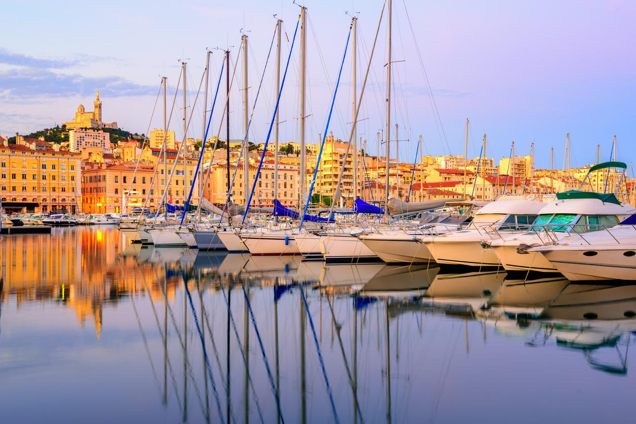 Port de Marseille - France