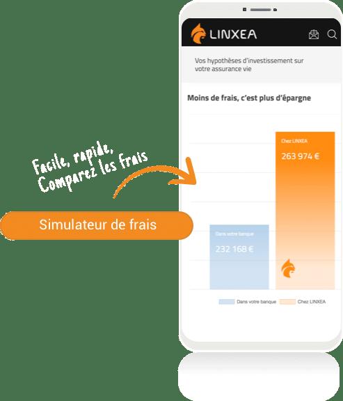 Simulation comparer les frais