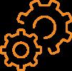 Gears - orange